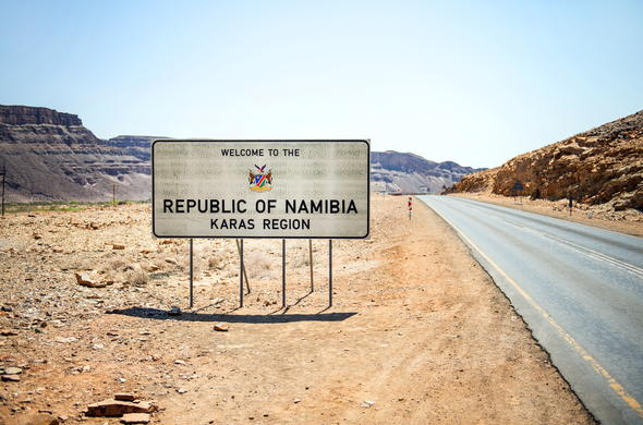 Welcome to Namibia.
