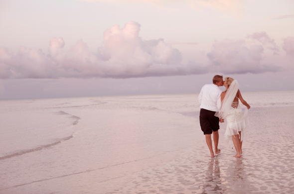 Beach romance in Mozambique.