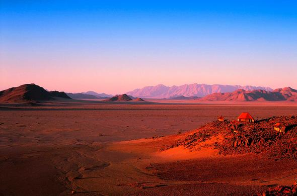 Dawn over Sossusvlei