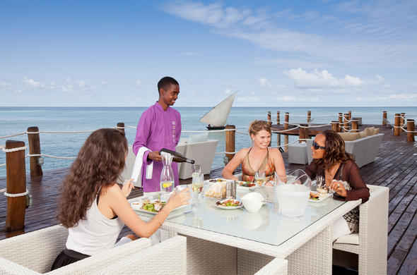 Exquisite dining experiences on the Essque Zalu Zanzibar terrace.