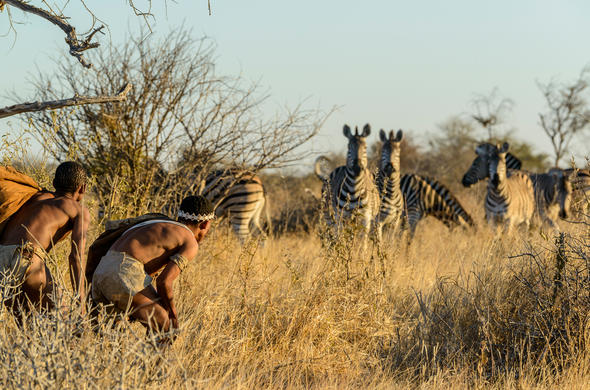 Botswana Holiday Guide Walk With The Bushmen On A
