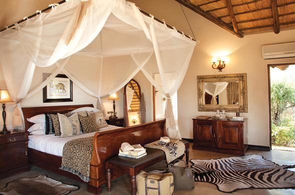 Luxury safari accommodation at Kings Camp.