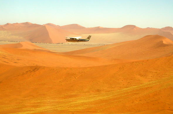 The best way to get around Namibia