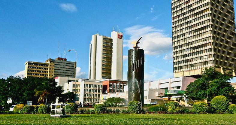 Lusaka, Zambia | Mapas | Pinterest | City maps