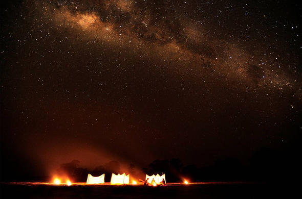 See the Milky Way Galaxy from Luwi Camp. Norman Carr Safaris