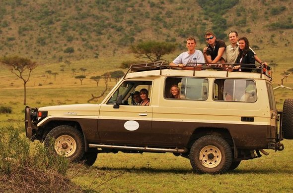 Game drives are offered through Masai Mara National Park,