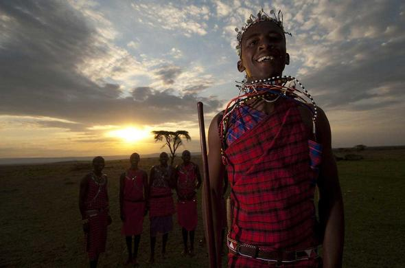 Maasai safari guides
