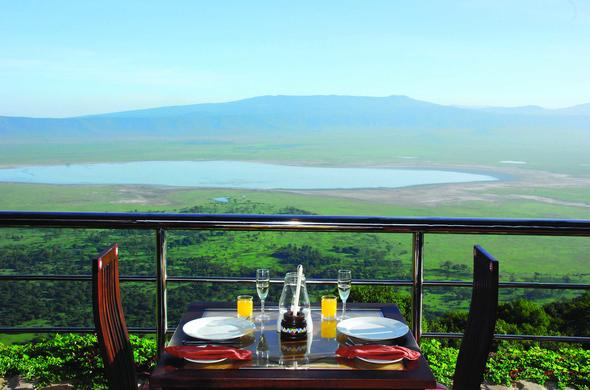 Breakfast at Ngorongoro Wildlife Lodge