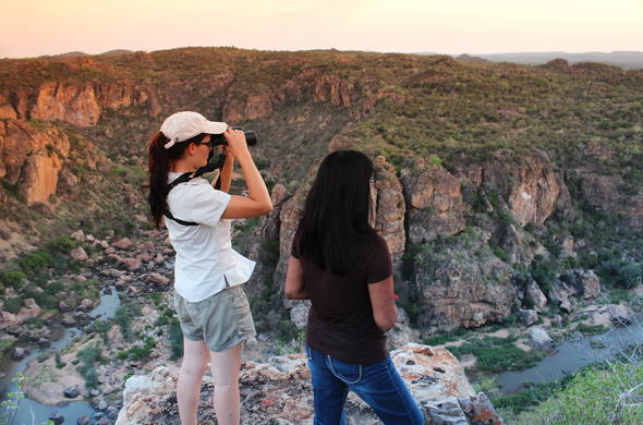 Breathtaking vistas of Kruger National Park.