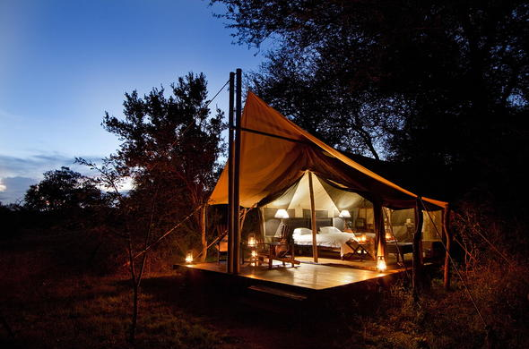 Privacy on a Kruger Park honeymoon at Plains Camp.