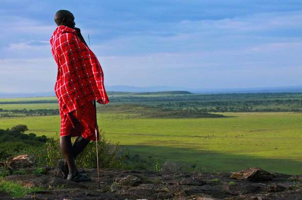 Rolling palins of the Masai Mara