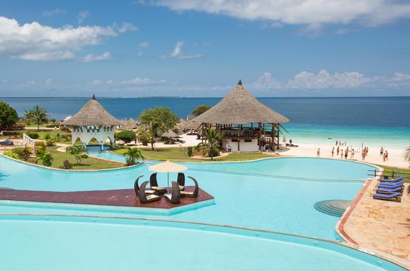 Royal Zanzibar Beach Resort Pool Area By Day