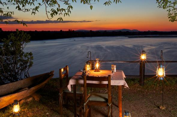 Rufiji River sunset