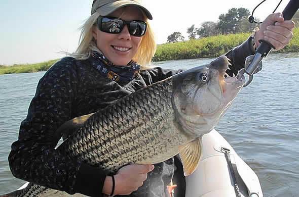 Zambia travel guide zambezi tiger fishing for Jeremy wade fishing rod