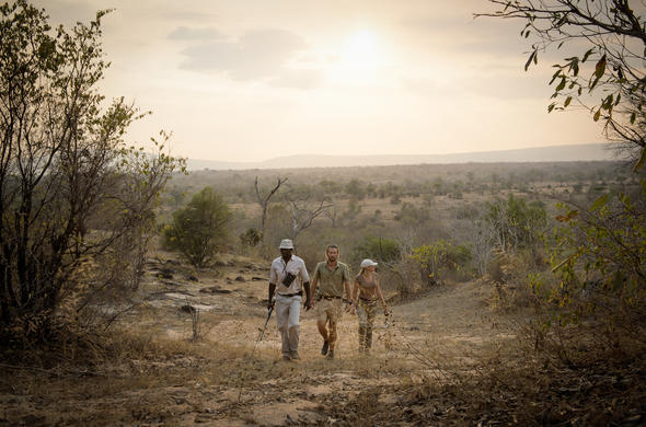 Thrilling walking safari in the vast Selous Game Reserve.