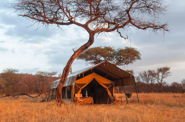 A relaxed and tranquil stay in the African wilderness.