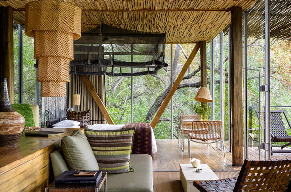Luxury accommodation at Singita Sweni in Sabi Sands.