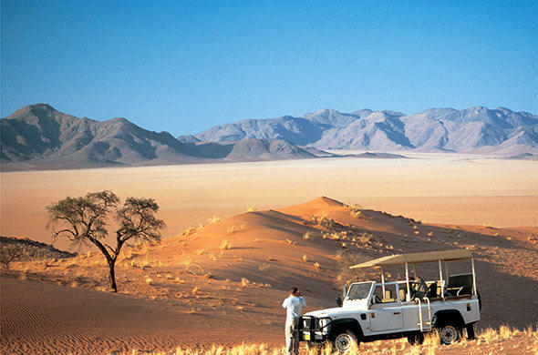 Wolwecdans. Namibia