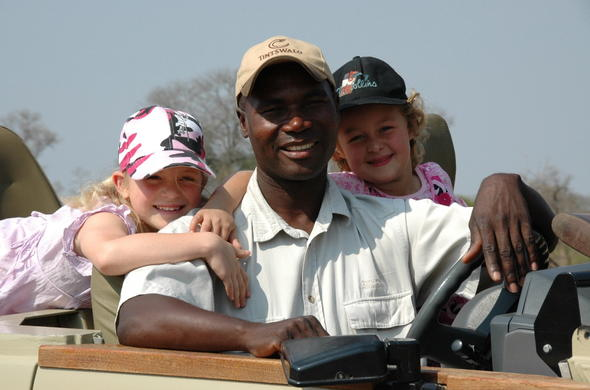 Child friendly safari activities in Manyeleti Game Reserve.