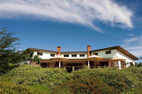 Tloma Lodge located in the Ngorongoro Highlands.