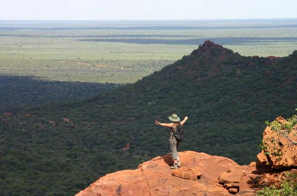 View of the Waterberg Plateau