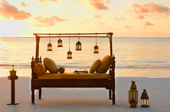 Relaxing Zanzibar beach holiday.